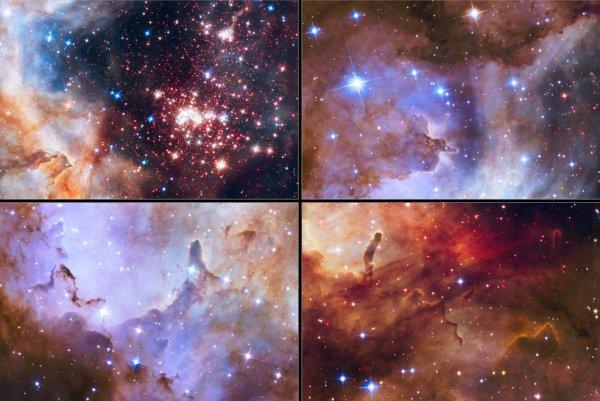 Zdjęcie gromady gwiazd Westerlund 2