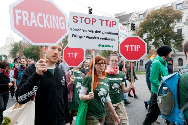 TTIP - demonstracja