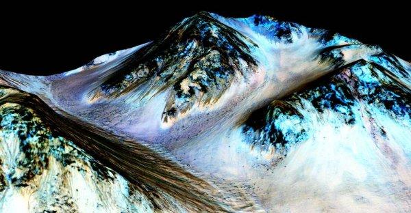Ślady wody na Marsie