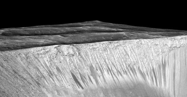 Ślady ciekłej wody na Marsie
