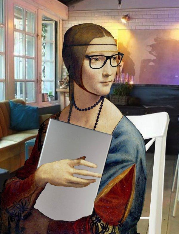 Karolina Drozd dama hipsterka