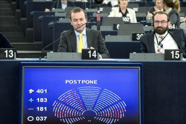 Odłożenie debaty PE