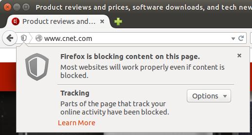 Firefox - ikonka tarczy