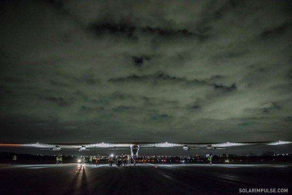 Solar Impulse przed startem