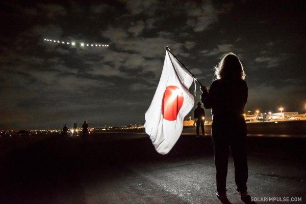 Solar Impulse 2 - start z Japonii