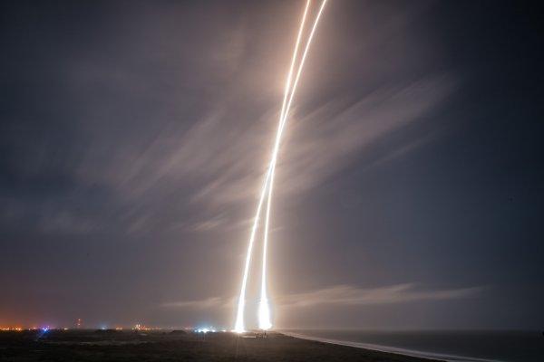 Falcon 9 - lądowanie