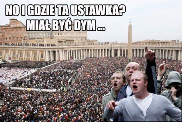 Nowy papież...