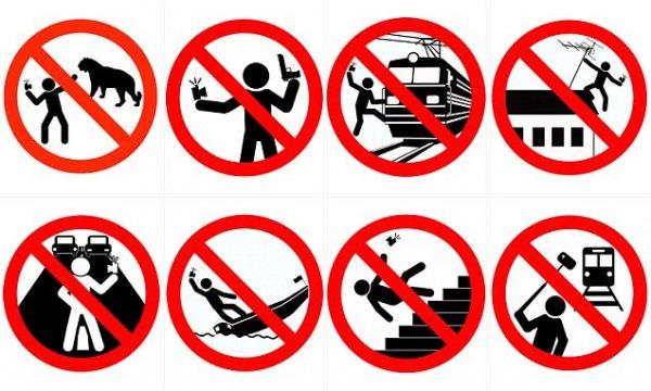 Rosja - bezpieczne selfie