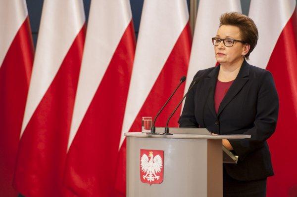 Anna Zalewska - minister edukacji