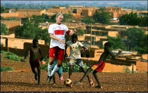 Donald Tusk w Nigerii