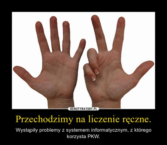 PKW - liczenie ręczne