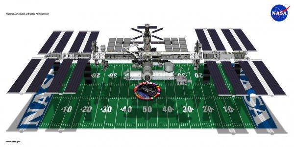 ISS - grafika NASA