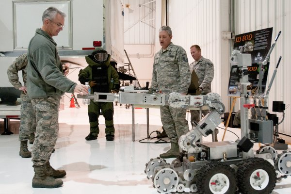 Kentucky National Guard - robot