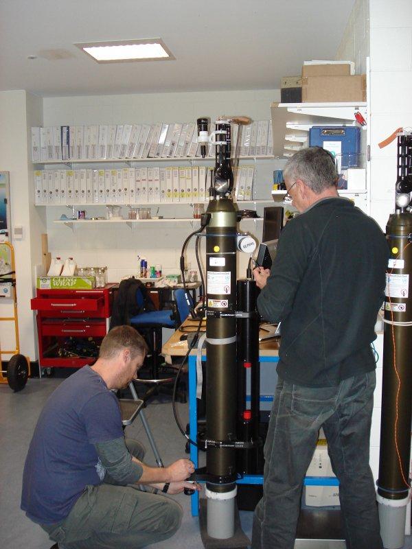 BioArgo w laboratorium