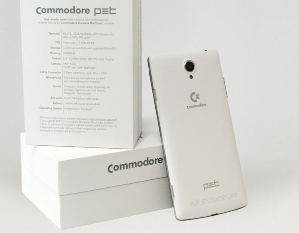 Smartfon Commodore
