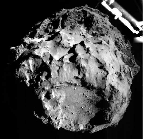 Philae - zdjęcie komety