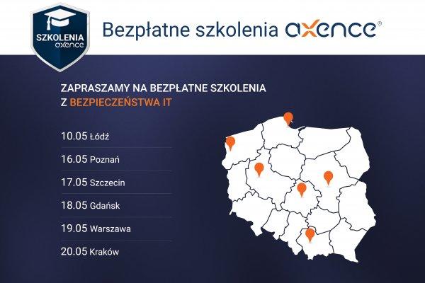 Bezpłatne szkolenia z bezpieczeństwa i zarządzania IT w 7 miastach