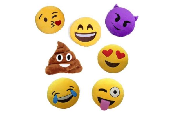 Dekoracyjne poduszki-emoji