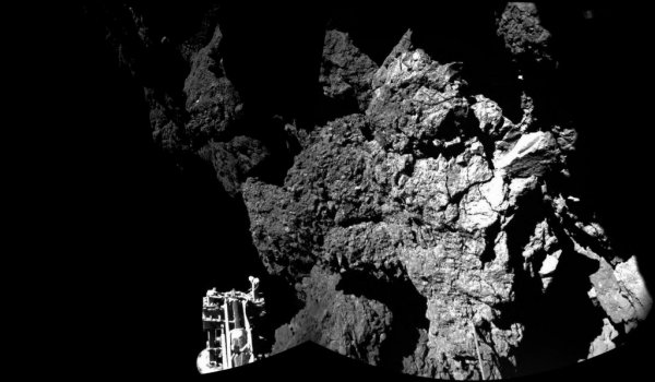 Rosetta - zdjecie z Philae