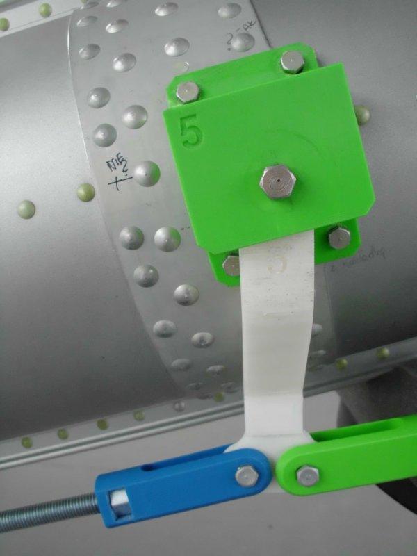Mechanizm w czasie testów