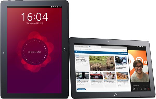 Tablet z Ubuntu