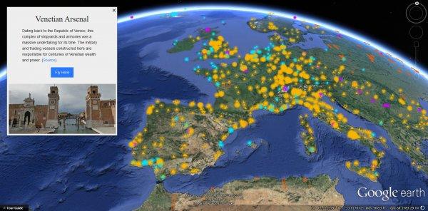 Google Earth - Podróżnik