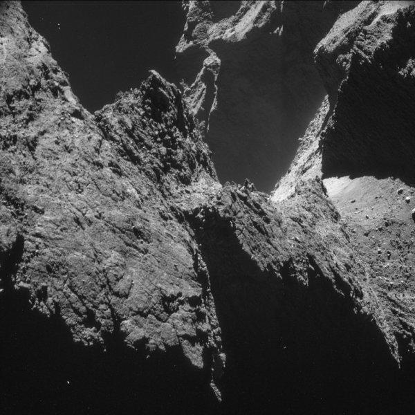 Rosetta - zdjęcie komety