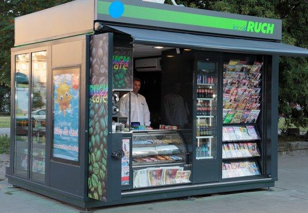 kiosk - zdjęcie