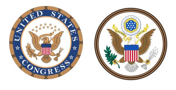 Pieczęći Kongresu USA i USA