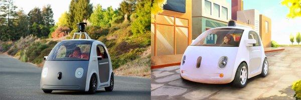 auto Google - prototyp