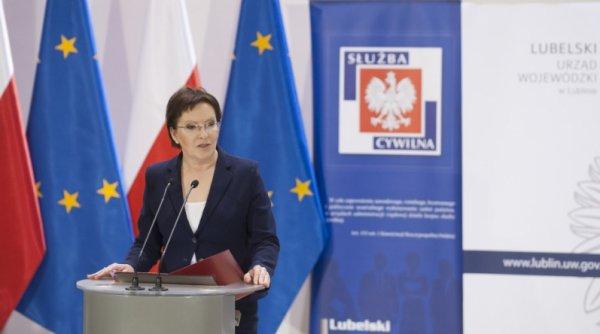 Ewa Kopacz w Lublinie