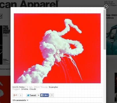 American Apparel - niewłaściwe zdjęcie