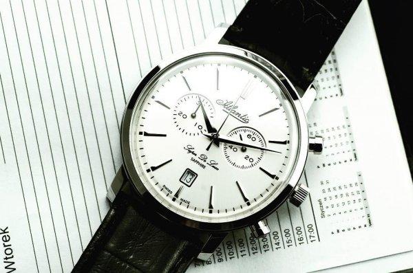 Atlantic szwajcarskie zegarki outlet