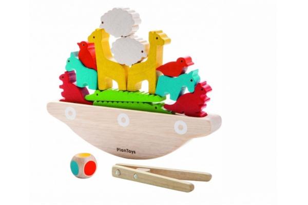 Prezent dla trzylatki. Balansująca łódka