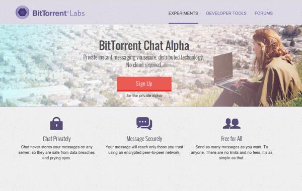 zrzut ze strony BitTorrent Inc.