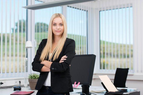 biuro rachunkowe kobieta