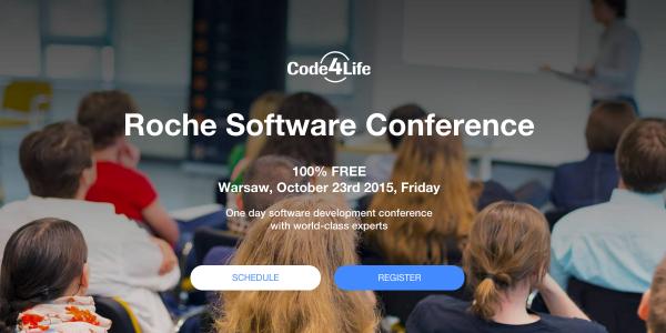 code4life konferencja