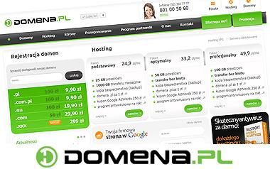 Domena.pl: domeny i hosting dla firm