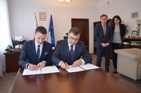 Podpisanie porozumienia ZUS-PKO