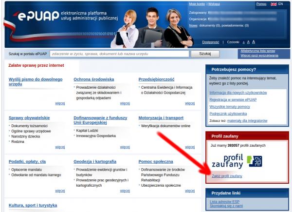ePUAP - profil zaufany