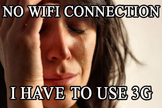No wifi - mem