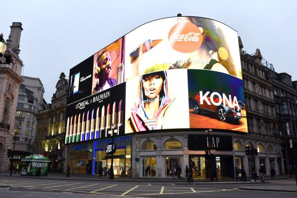 Picadilly Circus digital signage