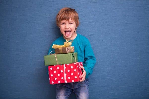 dziecko prezent