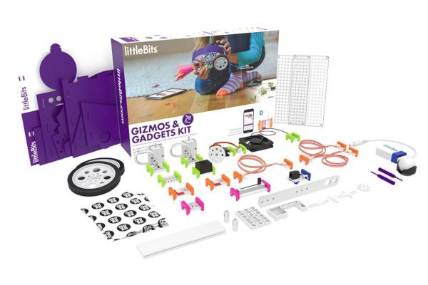 Prezent dla ośmiolatka. Klocki elektroniczne LittleBits