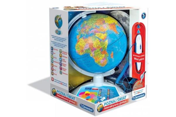 Prezent dla pięciolatki. Globus interaktywny