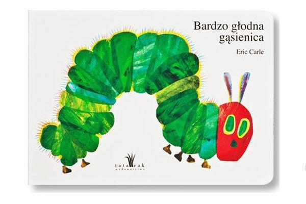 Prezent dla dwulatka. Książka Bardzo głodna gąsienica