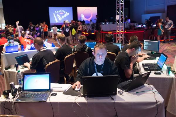Finały DEF CON CTF 2015 (Las Vegas, NV) - fot. Gynvael Coldwind