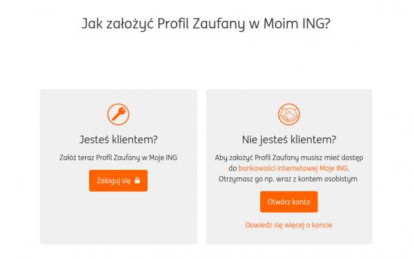 ING - Profil Zaufany