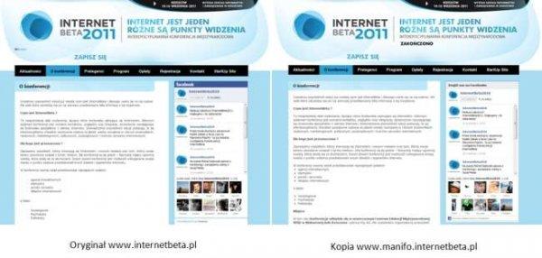Strona InternetBeta stworzona w Manifo.com