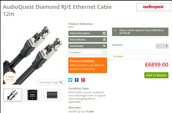 Ethernet za kupe kasy
